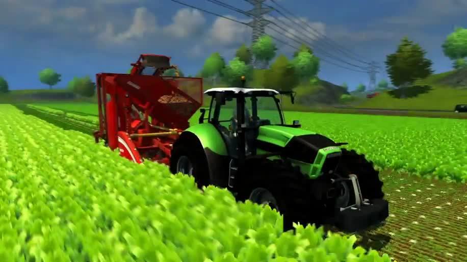 Trailer, Focus Interactive, Landwirtschafts-Simulator, Landwirtschafts-Simulator 2013