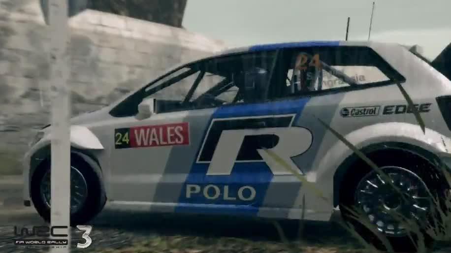 Trailer, Rennspiel, Namco Bandai, Milestone, WRC, WRC 3