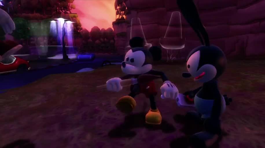 Disney, Epic Mickey, Mickey, Disney Micky Epic, The Power of Two, Disney Micky Epic 2