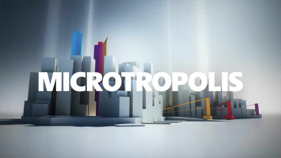 Microsoft, Windows 8, New York, Manhattan, Microtropolis