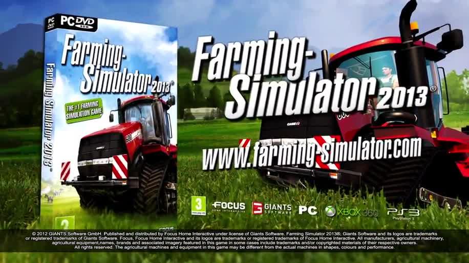 Trailer, Simulation, Focus Interactive, Landwirtschafts-Simulator, Landwirtschafts-Simulator 2013