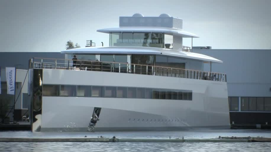 Apple, Steve Jobs, Schiff, Yacht, Venus