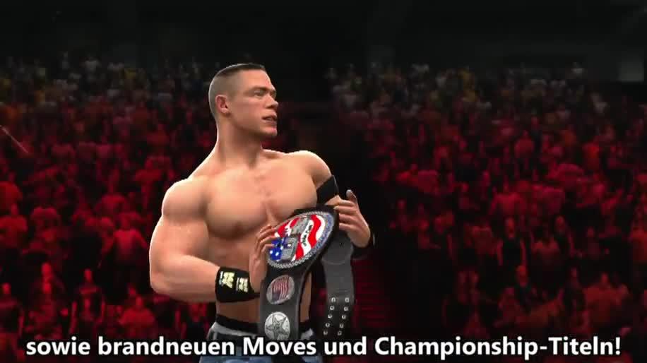 Trailer, Thq, Wrestling, WWE, WWE 13