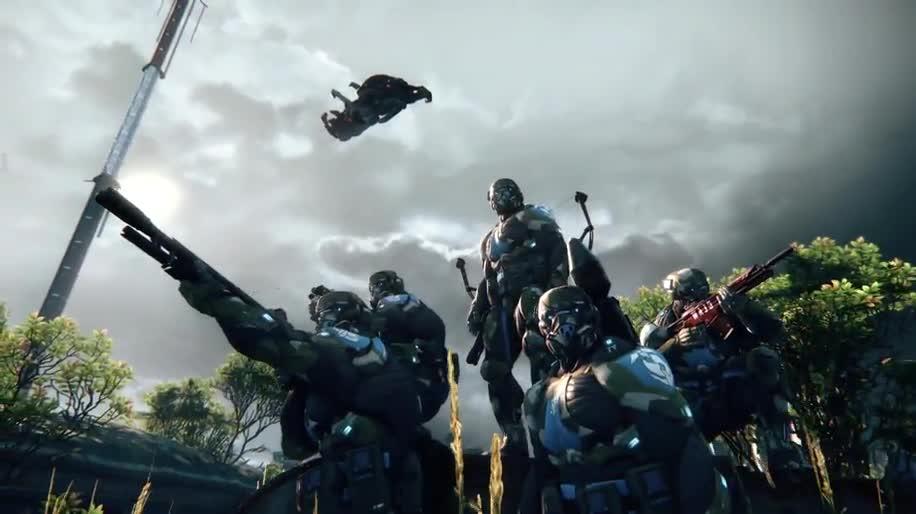 Trailer, Electronic Arts, Ea, Crytek, Crysis, Crysis 3, Cryengine 3