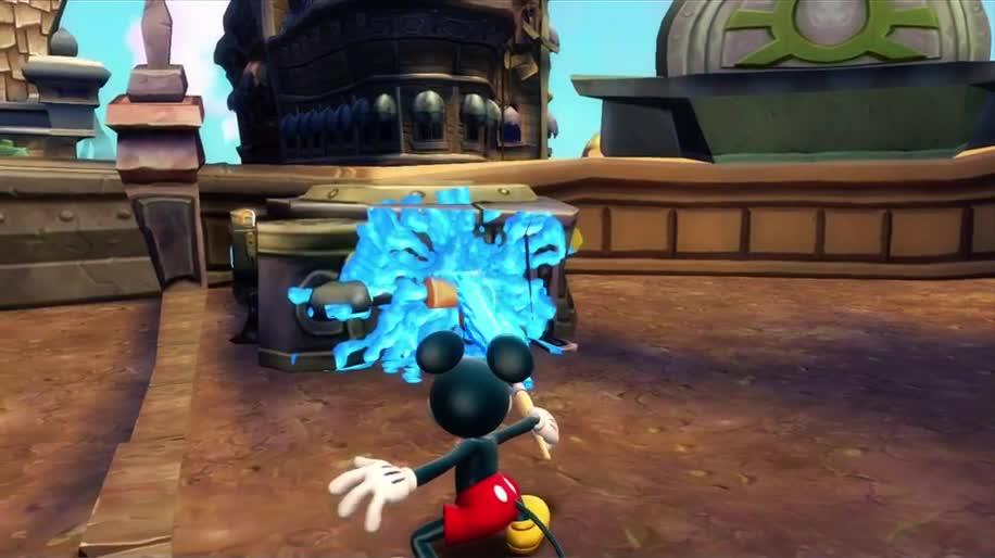Gameplay, Disney, Epic Mickey, Mickey, Disney Micky Epic, The Power of Two, Disney Micky Epic 2