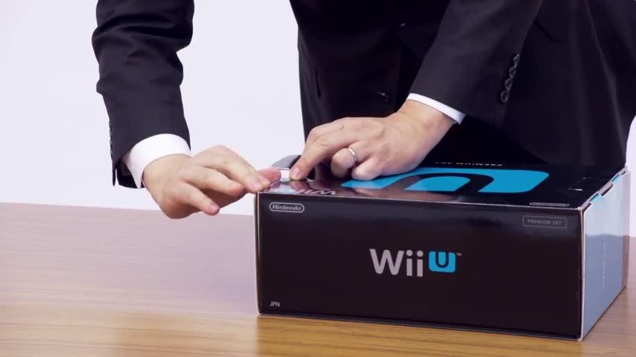 Nintendo, Wii U, Unboxing, Nintendo Wii U, Satoru Iwata