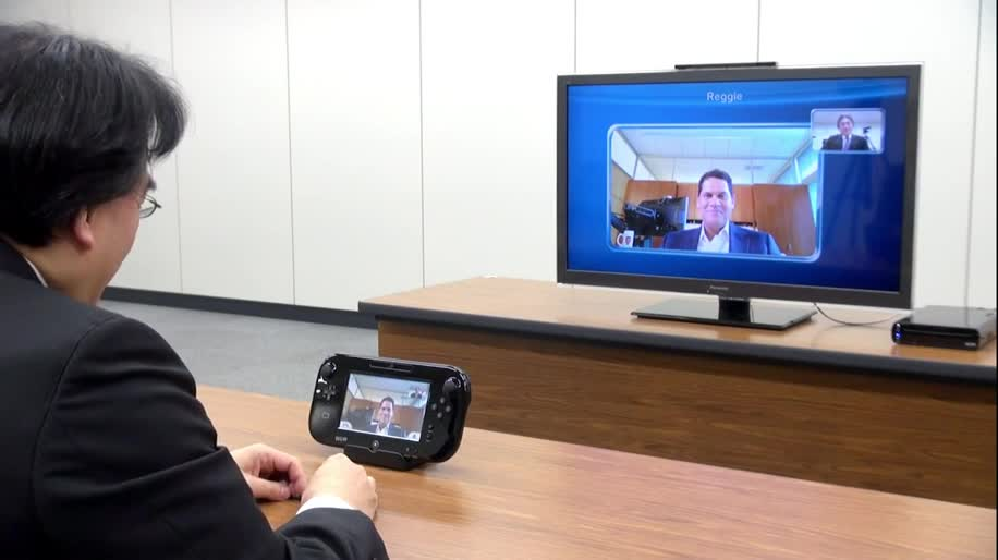 Nintendo, Wii U, Videotelefonie, Nintendo Wii U, Videochat, Satoru Iwata , Wii U Chat
