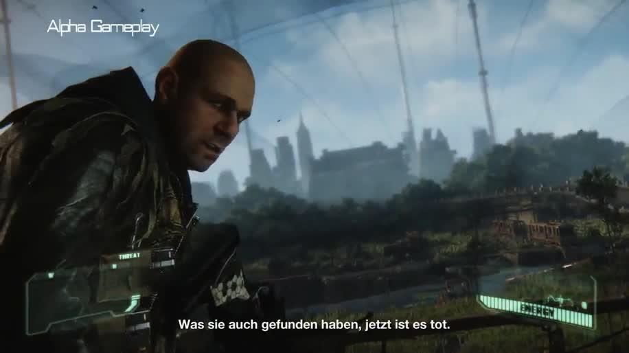 Trailer, Electronic Arts, Ea, Gameplay, Crytek, Crysis, Crysis 3, Cryengine 3