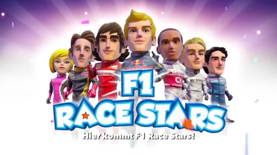 Trailer, Rennspiel, Codemasters, Formel 1, F1, F1 Race Stars