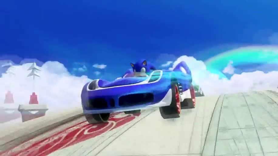 Trailer, Rennspiel, SEGA, Sonic, Sonic & All-Stars Racing Transformed