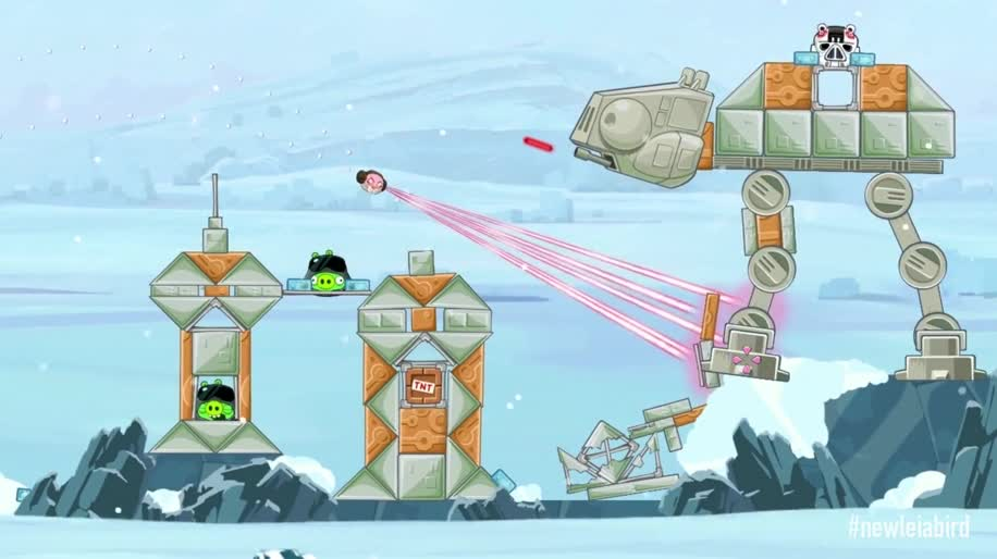Trailer, Star Wars, Angry Birds, Rovio, Angry Birds Star Wars