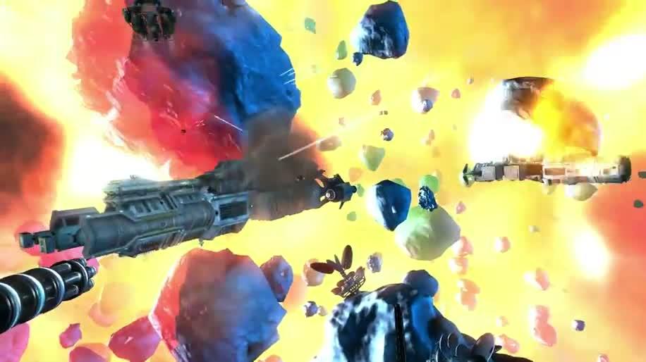 Trailer, Shooter, Weltraum, Miner Wars 2081, Keen Software House