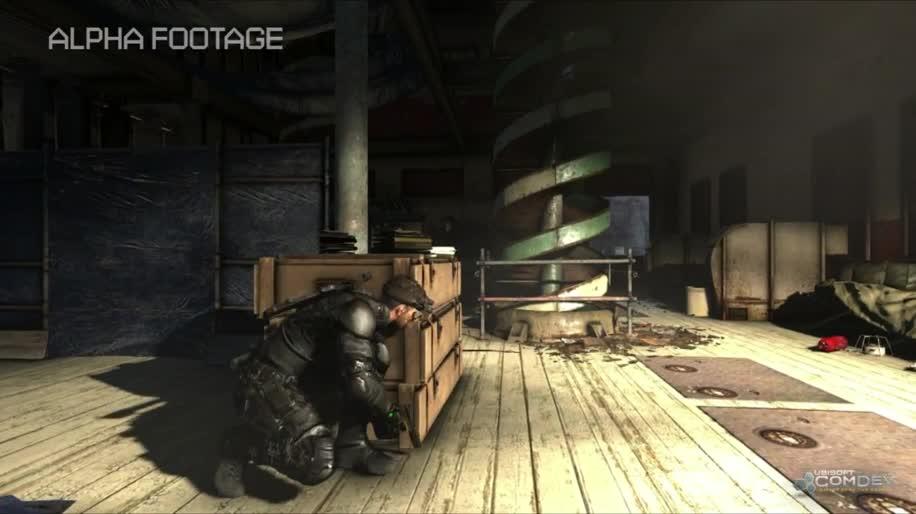 Ubisoft, Gameplay, Splinter Cell, Sam Fisher, Blacklist
