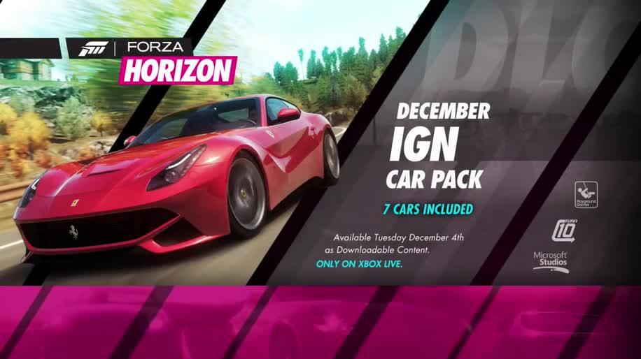 Microsoft, Trailer, Xbox 360, Rennspiel, Dlc, Forza, Forza Horizon