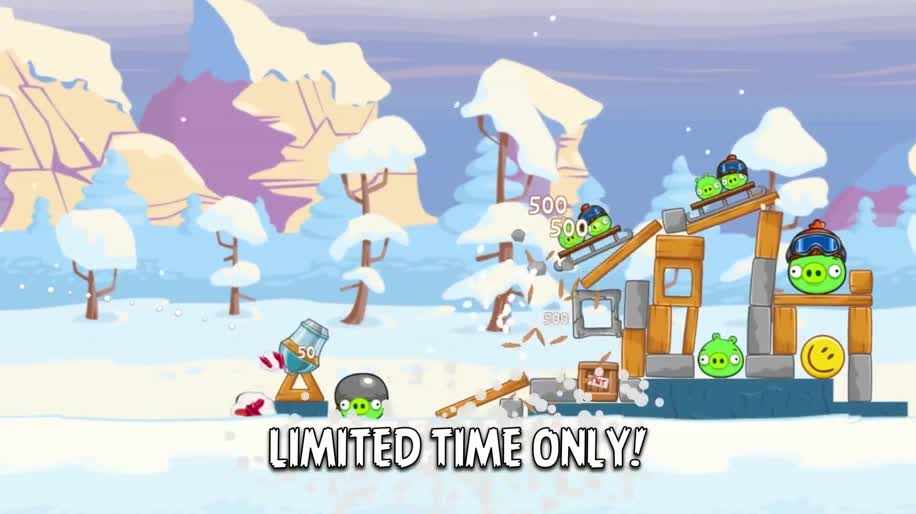 Trailer, Facebook, Angry Birds, Rovio, Angry Birds Friends