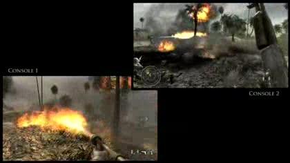 Multiplayer, Call of Duty, Koop-Modus, World at War