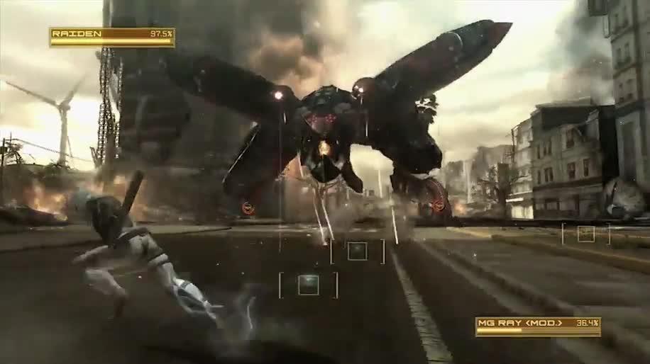 Trailer, Gameplay, Konami, Metal Gear Solid, Metal Gear Rising: Revengeance