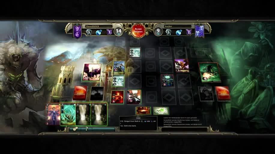 Trailer, Ubisoft, Online-Spiele, Free-to-Play, Kartenspiel, Might & Magic, Duel of Champions