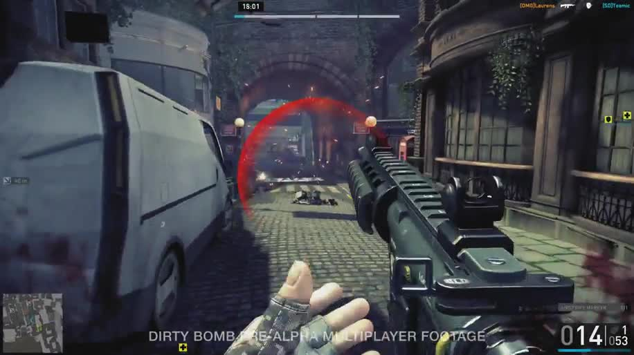 Ego-Shooter, Gameplay, Online-Spiele, Free-to-Play, Online-Shooter, Splash Damage, Dirty Bomb
