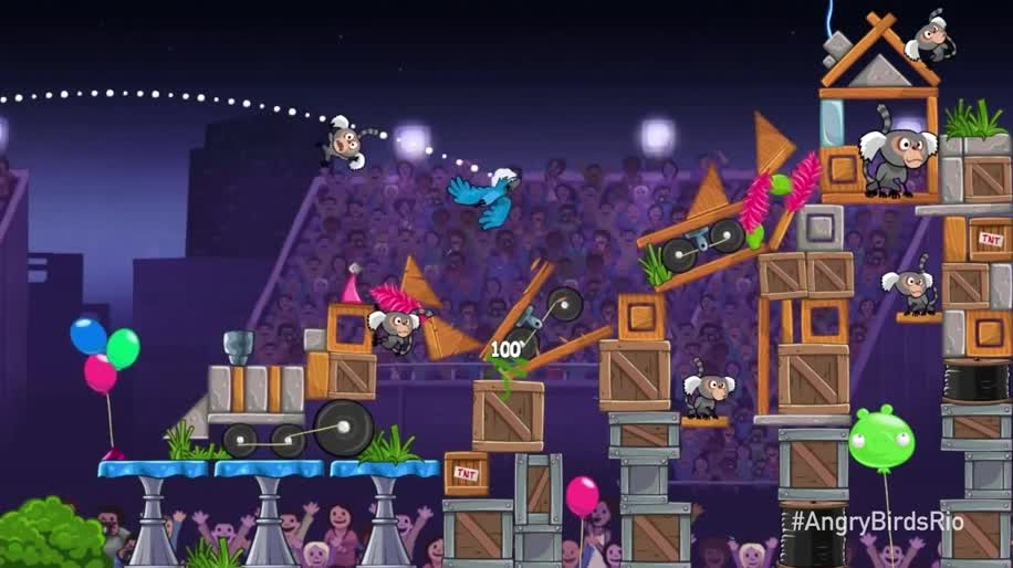 Trailer, Angry Birds, Rovio, Rio, Angry Birds Rio