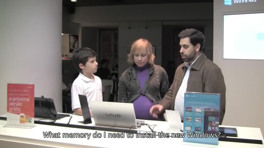 Microsoft, Betriebssystem, Windows, Windows 8, Werbespot, Benutzeroberfläche
