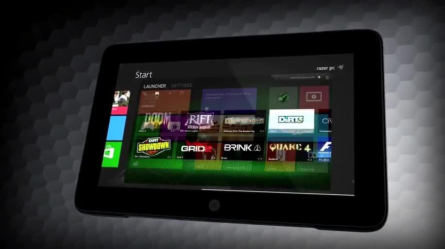 Tablet, Windows 8, Ces, Razer, ces 2013, Razer Edge