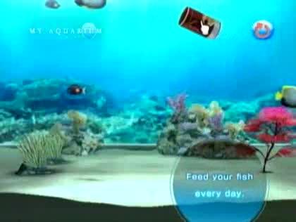 Nintendo, Wii, My Aquarium