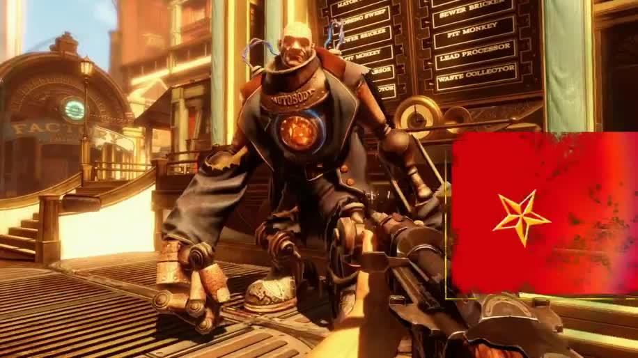 Trailer, Ego-Shooter, 2K Games, Bioshock, Bioshock Infinite