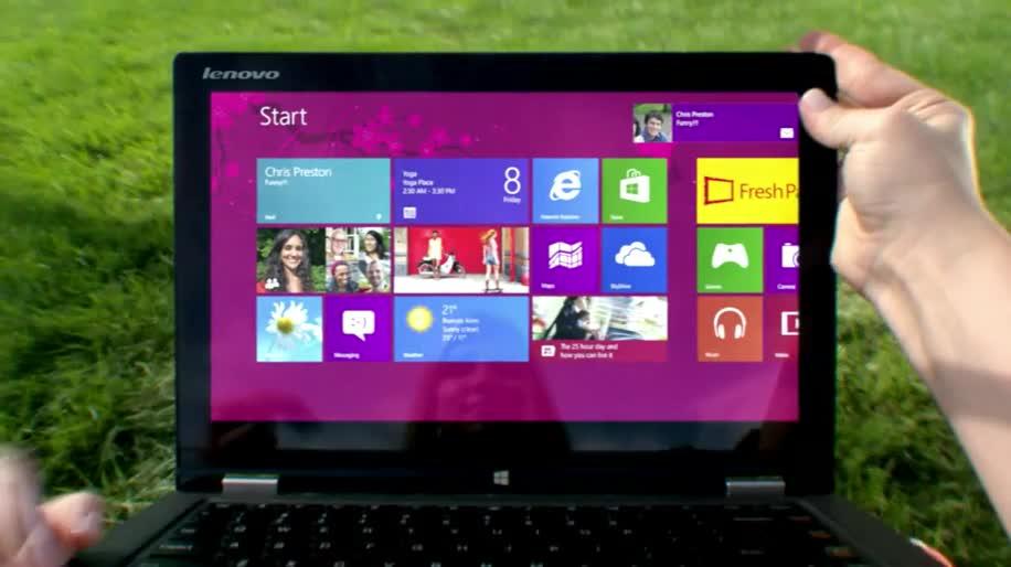Microsoft, Betriebssystem, Windows, Windows 8, Werbespot