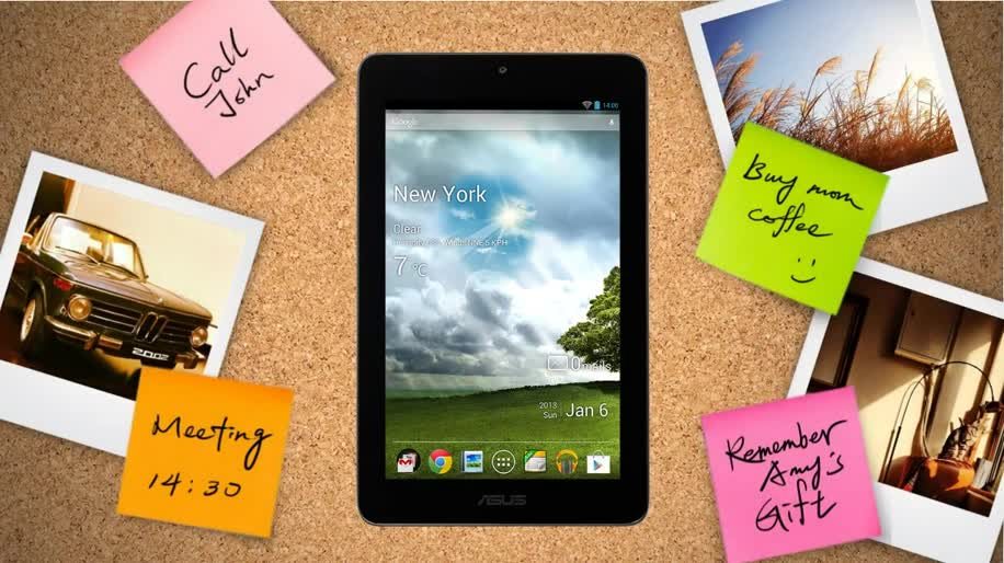 Android, Tablet, Asus, Android 4.1, MeMo Pad
