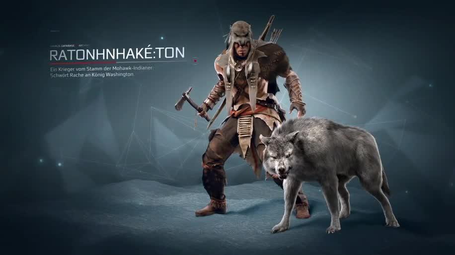 Trailer, Ubisoft, Dlc, Assassin's Creed, Assassin's Creed 3, Die Tyrannei von König George Washington