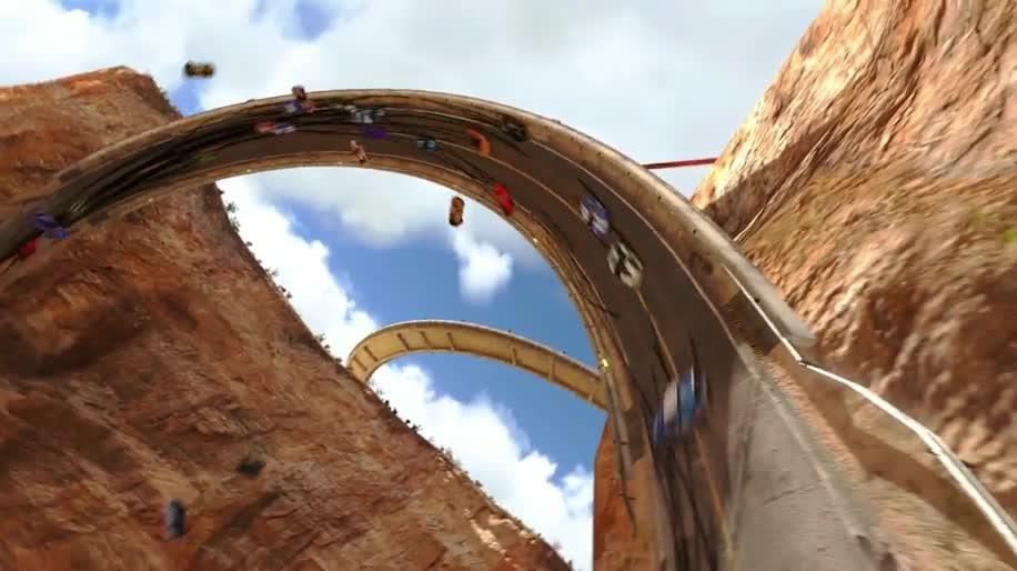 Trailer, Ubisoft, Rennspiel, Nadeo, Trackmania, Trackmania 2, maniaplanet, Trackmania 2 Canyon