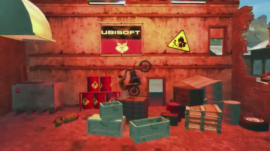 Trailer, Ubisoft, Rennspiel, Trials, Trials Evolution