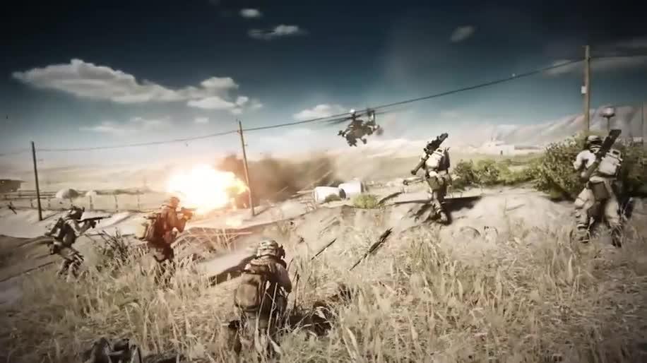 Trailer, Electronic Arts, Ego-Shooter, Ea, Dlc, Battlefield 3, Endgame