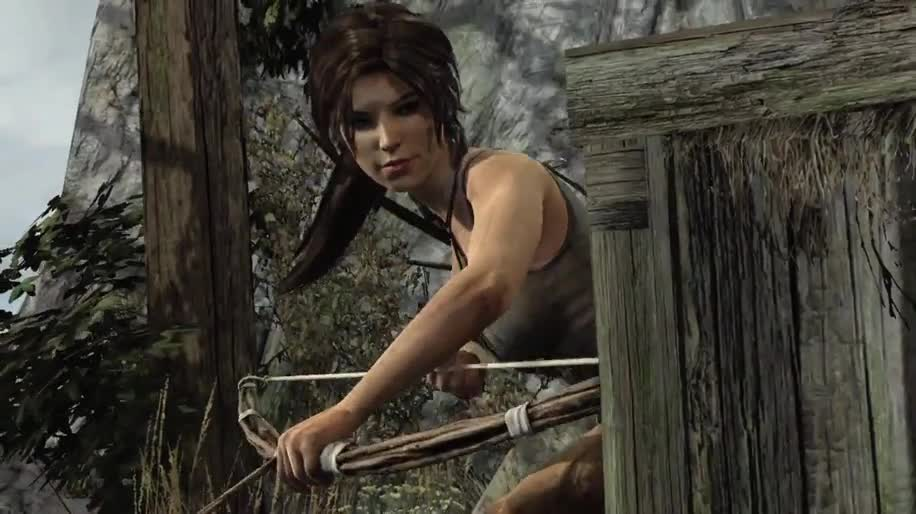 Trailer, actionspiel, Square Enix, Tomb Raider, Lara Croft