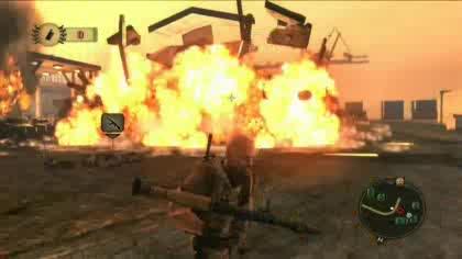 Mercenaries 2, World in Flames, Spielszenen