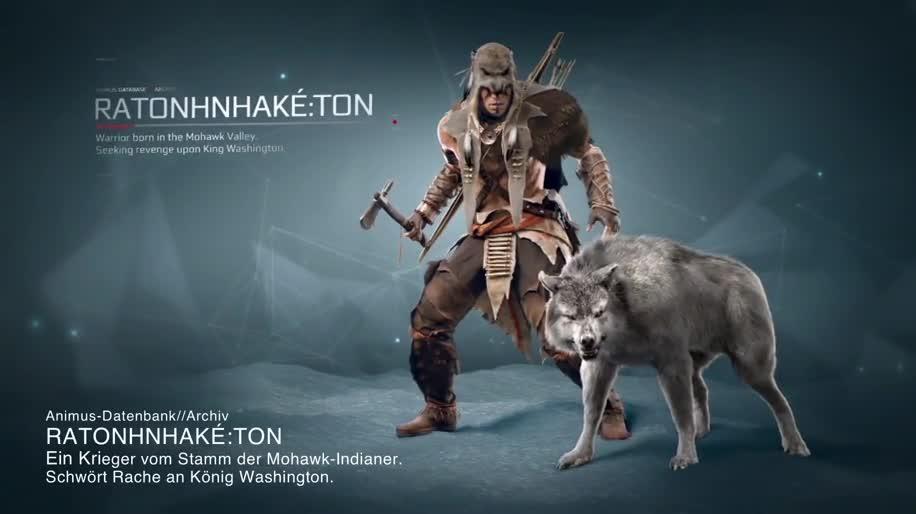 Trailer, Ubisoft, actionspiel, Dlc, Assassin's Creed, Assassin's Creed 3, Die Tyrannei von König George Washington
