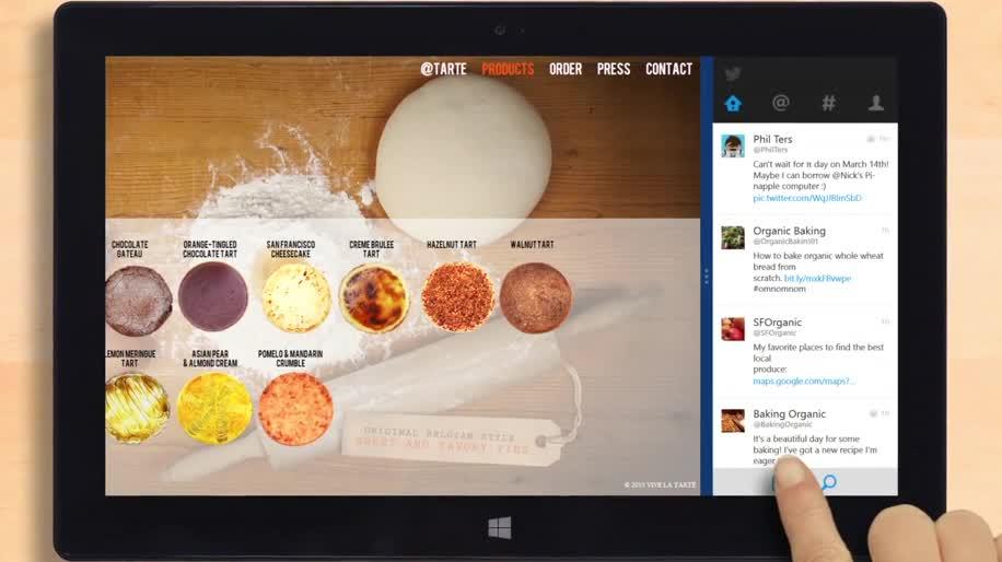 App, Windows 8, Twitter, Windows RT