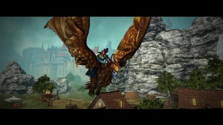 Trailer, Online-Spiele, Mmo, Mmorpg, Online-Rollenspiel, Dragon's Prophet, Infernum