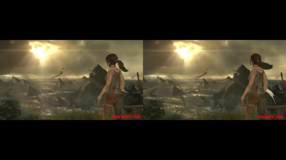 Amd, Square Enix, Tomb Raider, TressFX