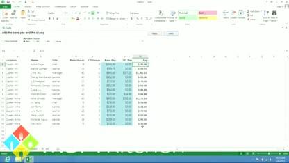 Spracherkennung, Microsoft Research, Excel, microsoft excel