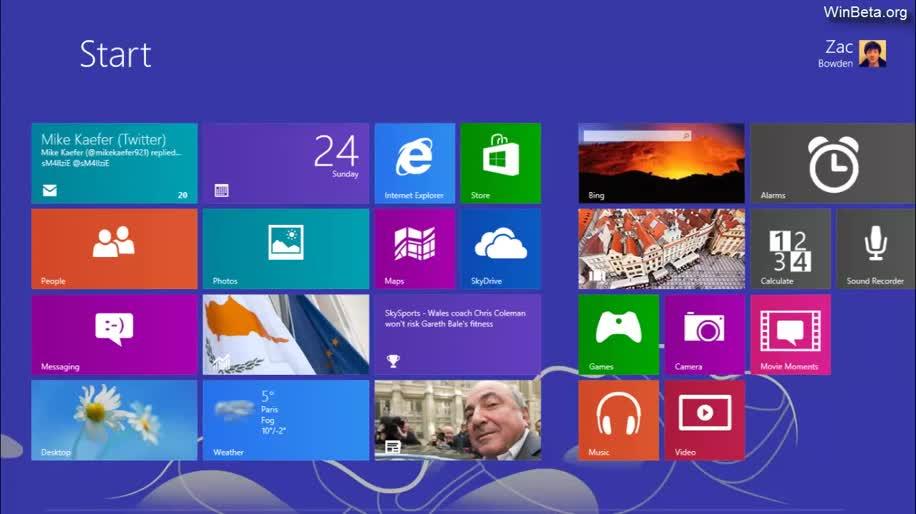 "Microsoft, Windows Blue, Windows Codename ""Blue"", Build 9364"