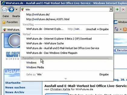 Microsoft, Browser, Ie8, Internet Explorer 8