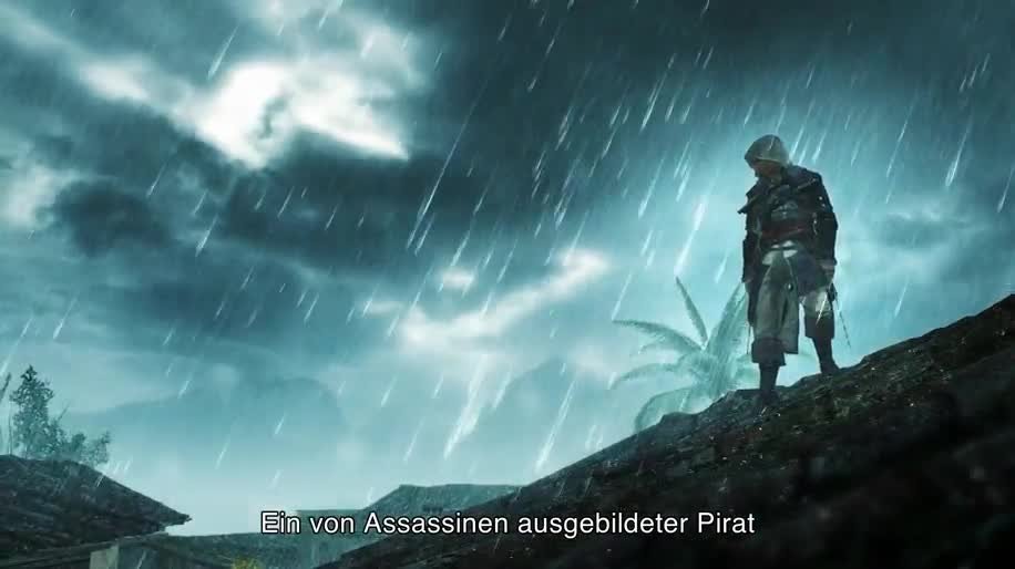 Trailer, Gameplay, Ubisoft, Assassin's Creed 4, Assassin's Creed 4: Black Flag, Black Flag