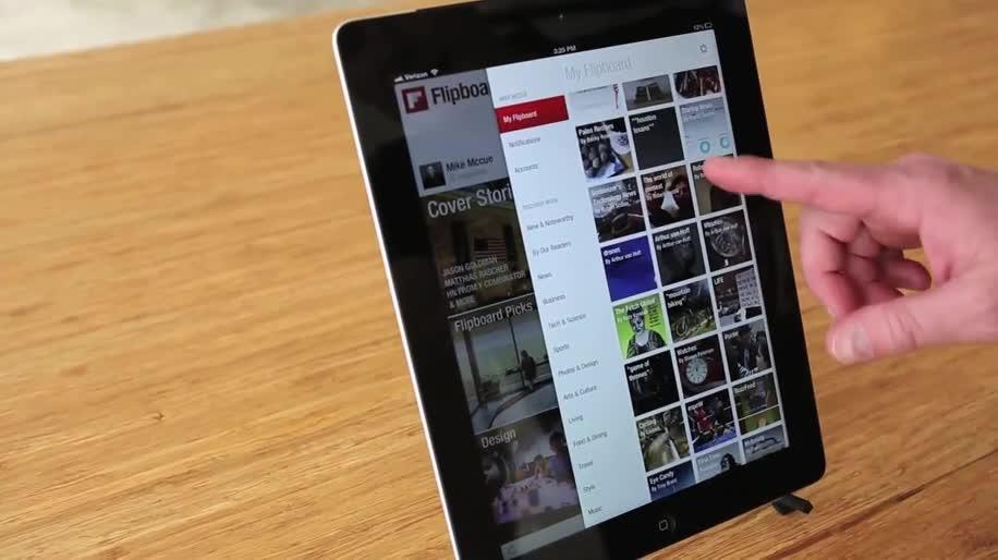 App, iOS, Nachrichten, Flipboard