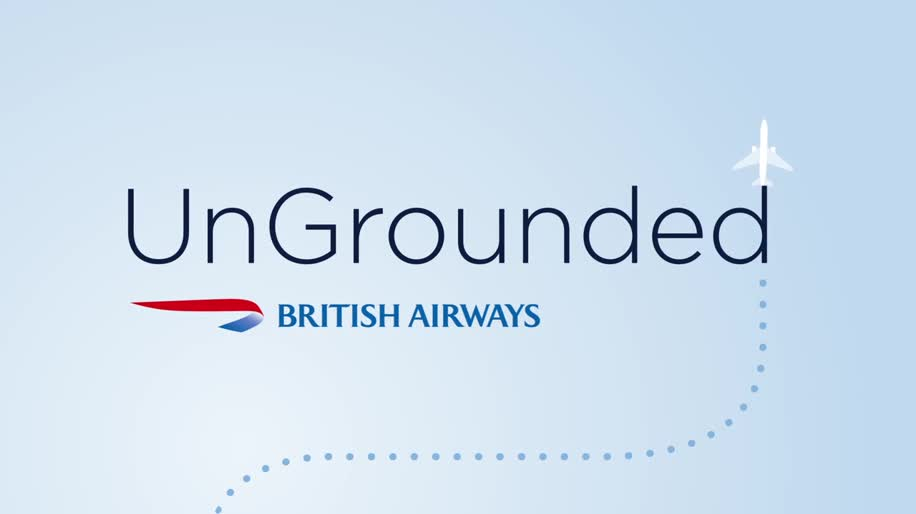 Flugzeug, Uno, british airways, Ungrounded