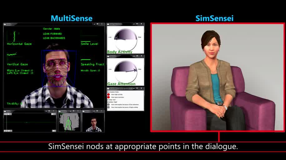 Kinect, Bewegungserkennung, simsensei