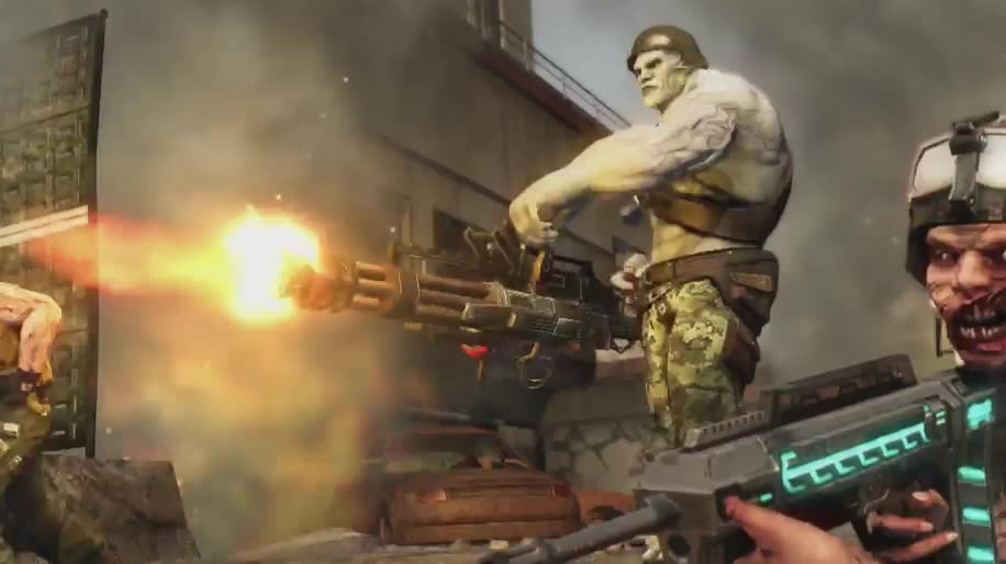 Trailer, Ego-Shooter, Online-Shooter, Namco Bandai, Trion Worlds, Defiance