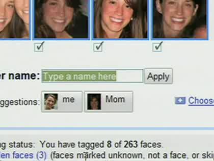 Google, Gesichtserkennung, Picasa