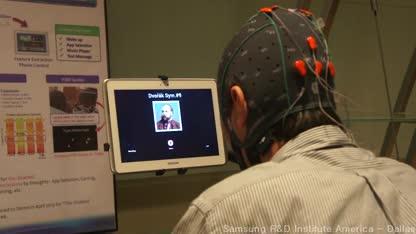 Tablet, Samsung, Steuerung, EEG, Brain-Computer-Interface, BCI, Galaxy Note 10.1.
